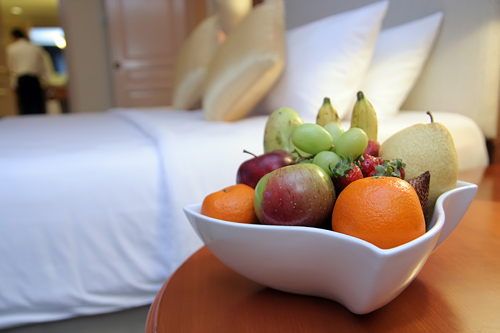 Grapes and Fruit Basket for the Room